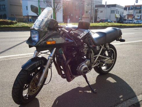 バイク買取 札幌 カタナ GSX1100S