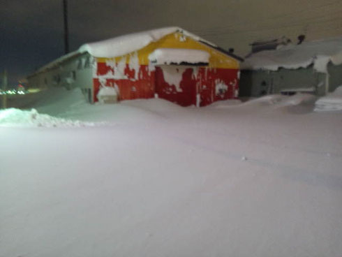 北海道 札幌 積雪
