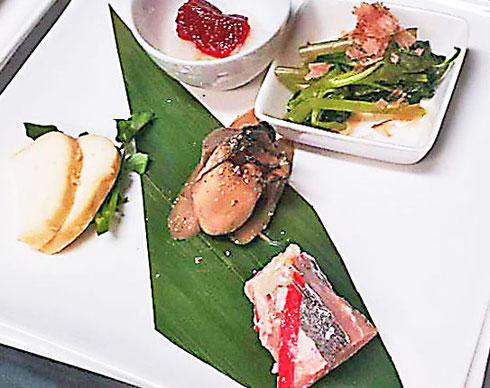前菜も5種盛りで提供します。