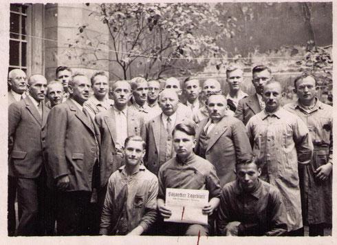 "Belegschaft ""Tageblatt""1935"