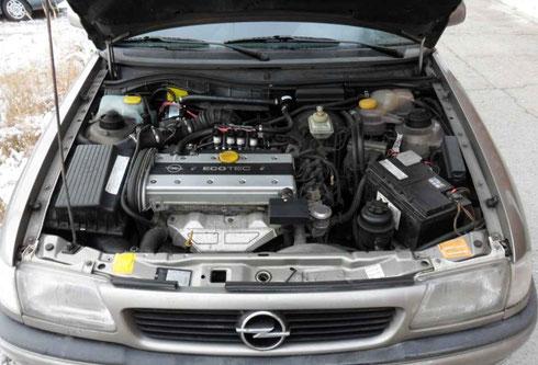 Opel Astra mit Prins