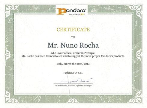 Certificação Pandora