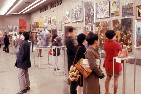 第24回日本アンデパンダン展会場風景