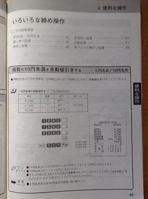 CASIO TK-100取扱い説明書