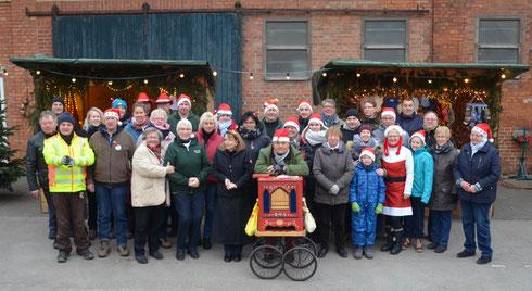 Das Team des 15. Weihnachtsmarktes in Ingeln-Oesselse