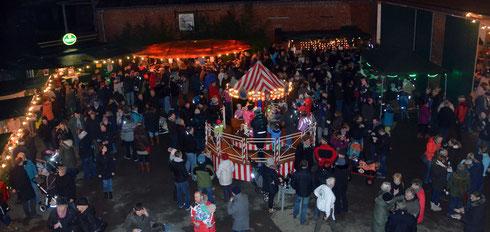 Weihnachtsmarkt 2015 in Ingeln-Oesselse