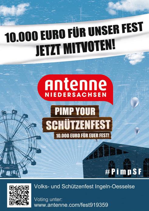 Voten Sie jetzt mit! www.antenne.com/fest919359
