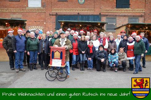 Team Weihnachtsmarkt 2013