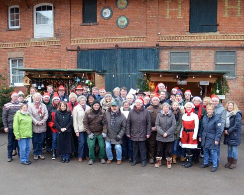 Das Team des 14. Weihnachtsmarktes in Ingeln-Oesselse
