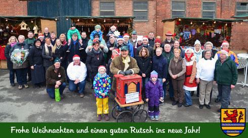 Team des Weihnachtsmarkts 2014 in Ingeln-Oesselse