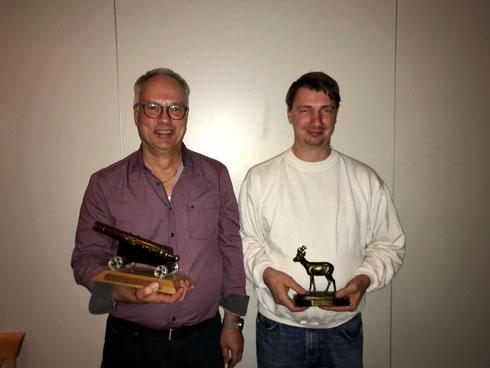 Sieger des Abends: v.l. Arnold Oelkers, Oliver Najuch