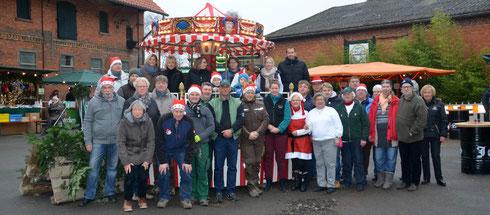 Team vom 13. Weihnachtsmarkt in Ingeln-Oesselse 2016