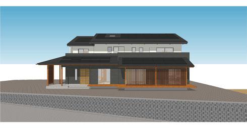 3世代の家 完成イメージ
