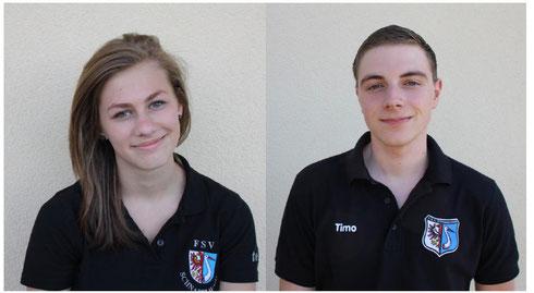 Hannah Glätzner und Timo Hemm