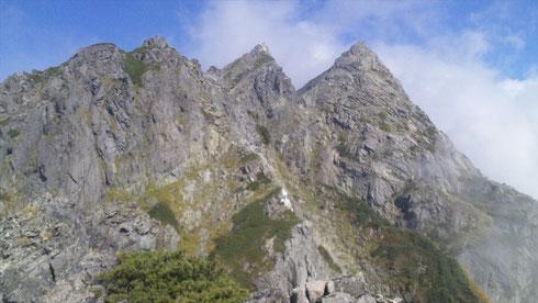 明神4峰からの展望