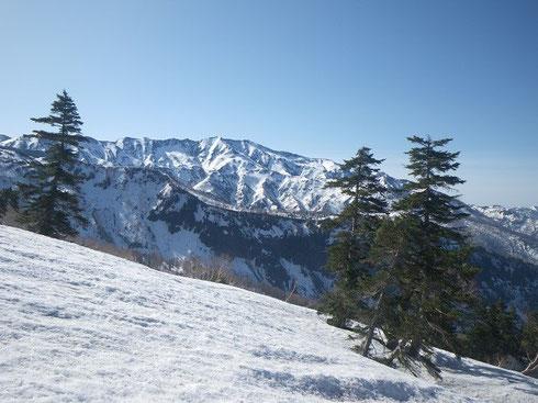 別山。(1700M付近?より)