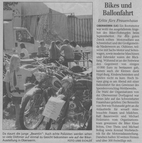 08.09.2004 Schweinfurter Tagblatt