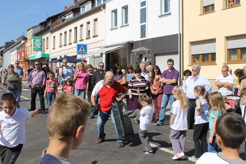 Kids WingTsun Vorführung in Saarwellingen