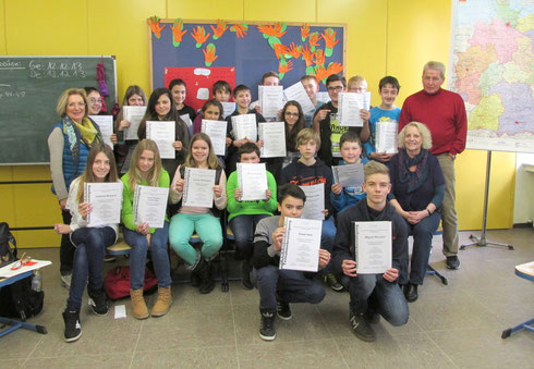 Zertifikat der Uni Osnabrück für die Teilnahme am Sozialkompetenztraining