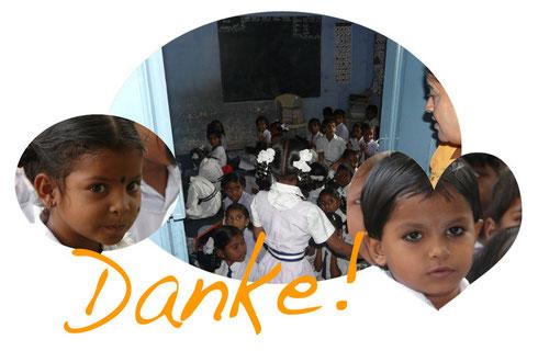 Schulprojekt in Südindien