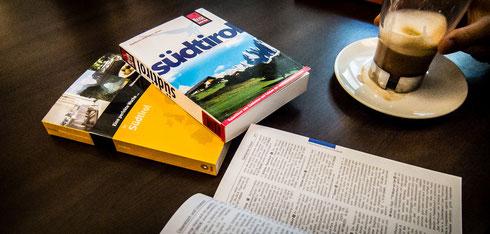 Reise Know-How, Süddeutsche Edition, Stefan Loose: Aktuelle Südtirol-Führer für unsere Gäste-Bibliothek