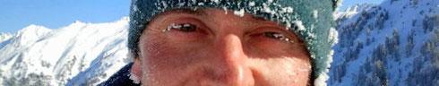 Wanted: Mann mit gefrorenen Wimpern und Ohrläppchen
