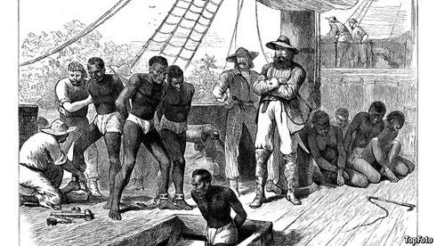 奴隷売買は、奴隷解放の1834年まで続いた。