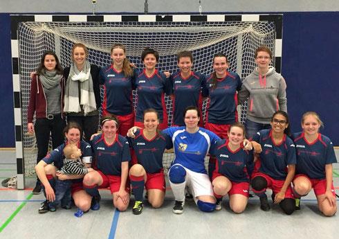 Gingen auch im erstem Stadtderby 2017/18 als Sieger hervor: Futsalicious Ladies (Foto: Fritz)