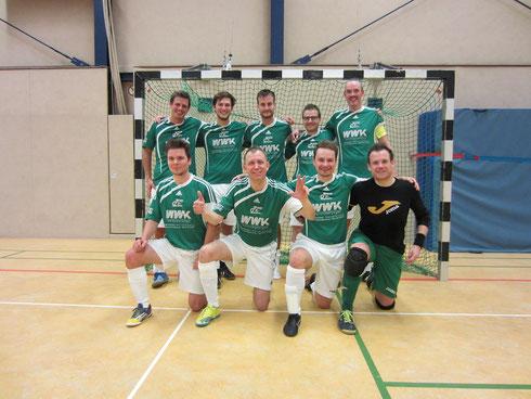 Die Futsal SG Ruhrgebiet West am 05.11.2016 in Mülheim (Foto: Gött)