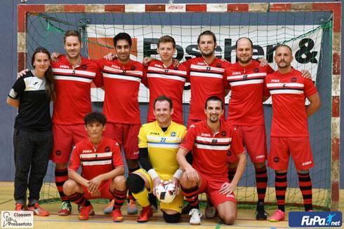 "Saisonvorbereitung 2018/19: Die Futsalicious Herren zu Gast beim ""Selecao Cup"" in Wuppertal am 25.08.2018 (Foto: Jochen Claasen / www.sportfotodienst.de / FuPa.net)"