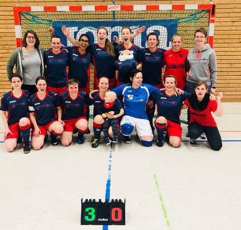 Zu Null: Die Futsalicious Essen Ladies überzeugen beim Regionalliga-Heimspiel gegen Holzpfosten Schwerte (Foto: Fritz)