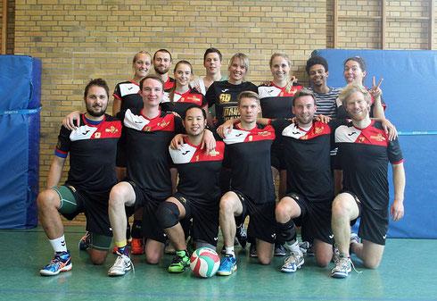 Das Schmetterlicious Mixed-Team teilt sich mit unseren Futsalern am Samstag die Halle und schielt auf die Möglichkeit von zwei Heimsiegen direkt hintereinander (Foto: Beckers)
