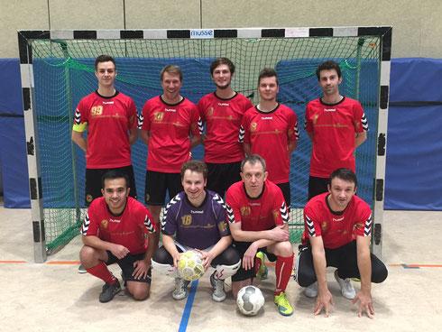 Die Futsal SG Ruhrgebiet West am 19.11.2016 in Düsseldorf (Foto: Halilovic)