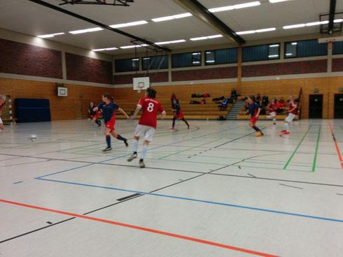 Schwindelig gespielt: Futsalicious Ladies verlieren am Ende erwartet, aber zu hoch gegen Münster (Foto: Gött)