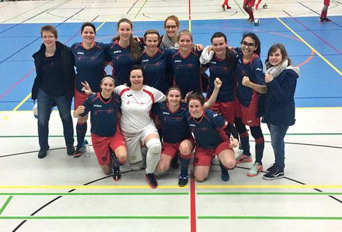 Der auch im Ergebnis souveräne Auftritt gegen ein streckenweise schwer überfordertes Schwerte tat de Futsalicious Ladies sichtlich gut (Foto: Wehling)