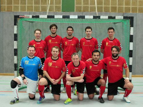 Die Futsal SG Ruhrgebiet West am 03.12.2016 in Krefeld (Foto: Bühl)