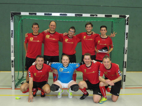 Die Futsal SG Ruhrgebiet West am 01.10.2016 in Haan (Foto: Bühl)