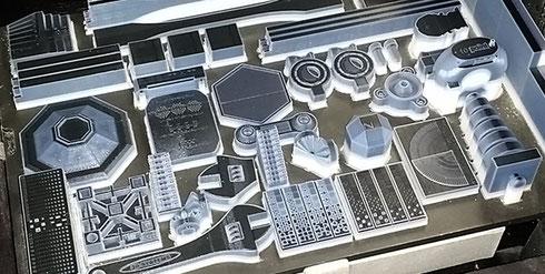 ProJet 5500X: Höchste Produktivität durch viele Modelle in einem Druckvorgang