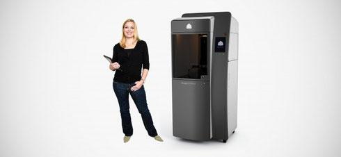 PoJet SLA 3D Drucker 6000 und 7000