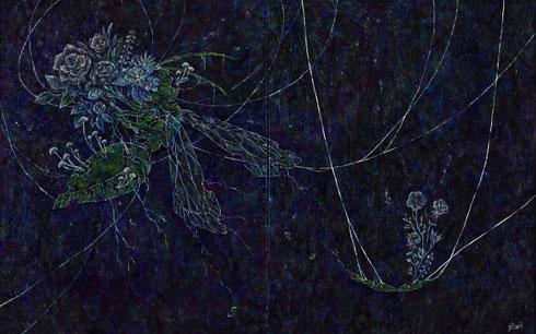 「Reincarnation」 吉村 仁美 910×1820