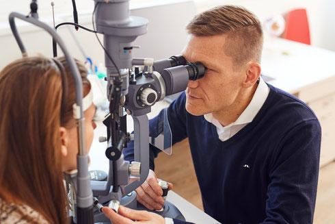 Augenarzt Dr. Michael Steinberger