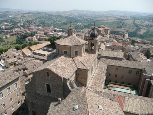 Macerata - Panorama dalla torre