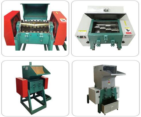 Granulator Machines For Rigid Plastics