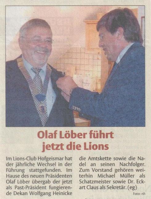 HNA - Ausgabe Hofgeismar, 19.7.2014