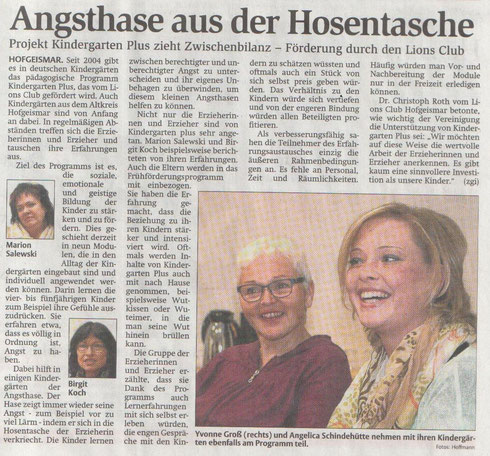 HNA - Ausgabe Hofgeismar, 26.11.2014