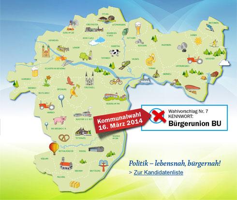 Kanidatenkarte BU Passau