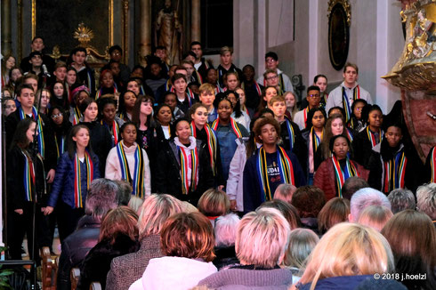16. Dez. 2018 Pfarrkirche Waizenkirchen: Up Youth Choir, The University of Pretoria, Südafrika
