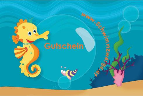 gutschein babyschwimmen