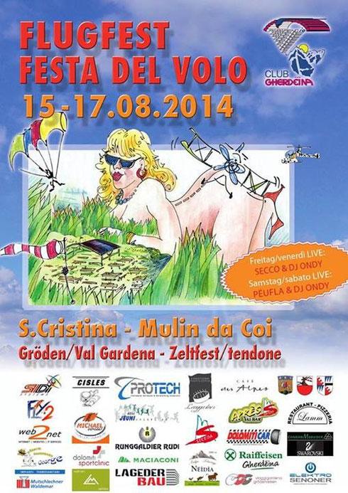 Flugfest 2014 - Gröden
