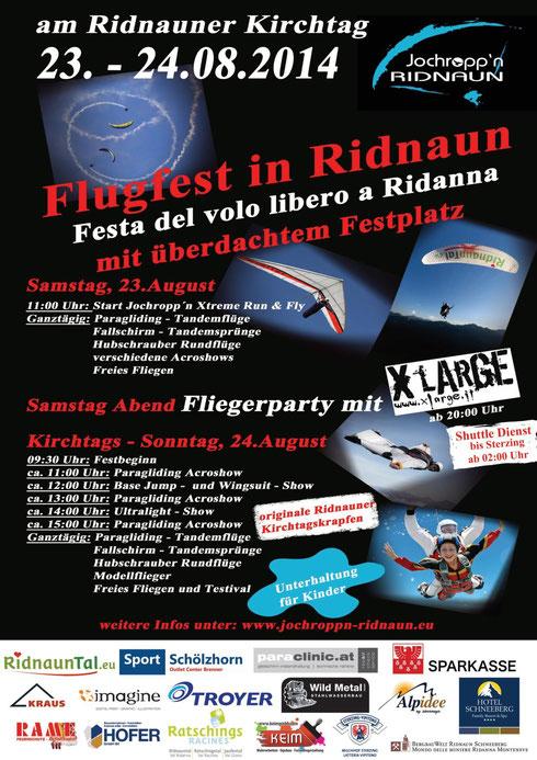 Flugfest Ridnaun 2014